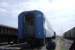 wagons at train station