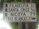 Traffic sign in Liberia
