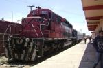 Engine at Felipe Pescadors train station