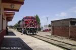 Engine at train station