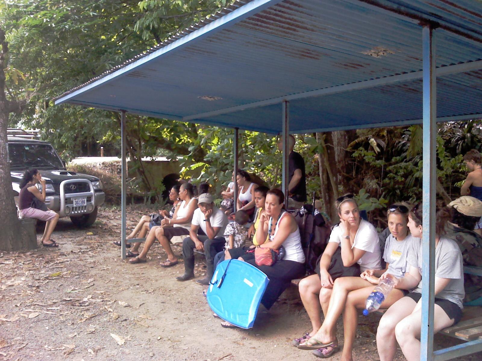 Montezuma Bus Stop